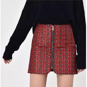 NEW Isabel Marant Heina Jacquard mini skirt